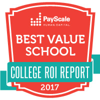 Payscale College ROI 2017