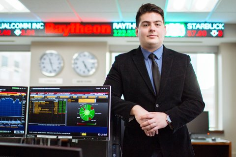 Student Managed Investment Fund experience leads to professional position