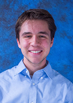 A head shot of John Atkinson, business honors student