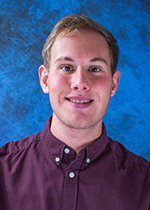 A head shot of Lucas Wertenberger, business honors student