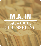 M.A. in School Counseling Web Button