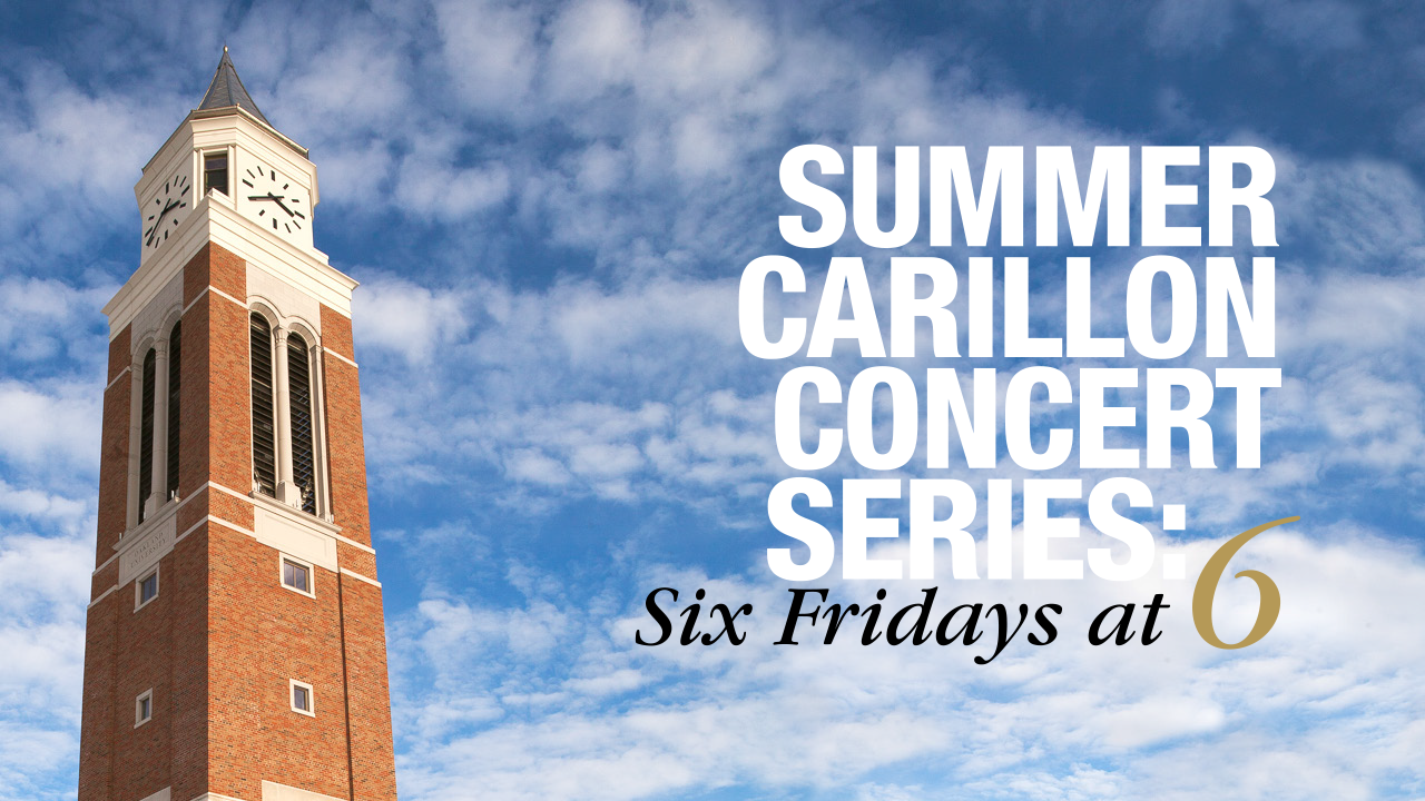 Summer Carillon Concert Series: Six Fridays at 6 with Elliott Tower image