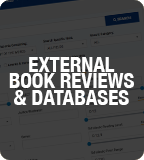 External Book Reviews & Databases Web Graphic