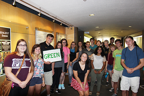 Honors College Welcome Green Group
