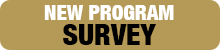 HDCS Homepage Button - new program survey