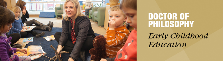 PhD in Early Childhood Education Web Banner