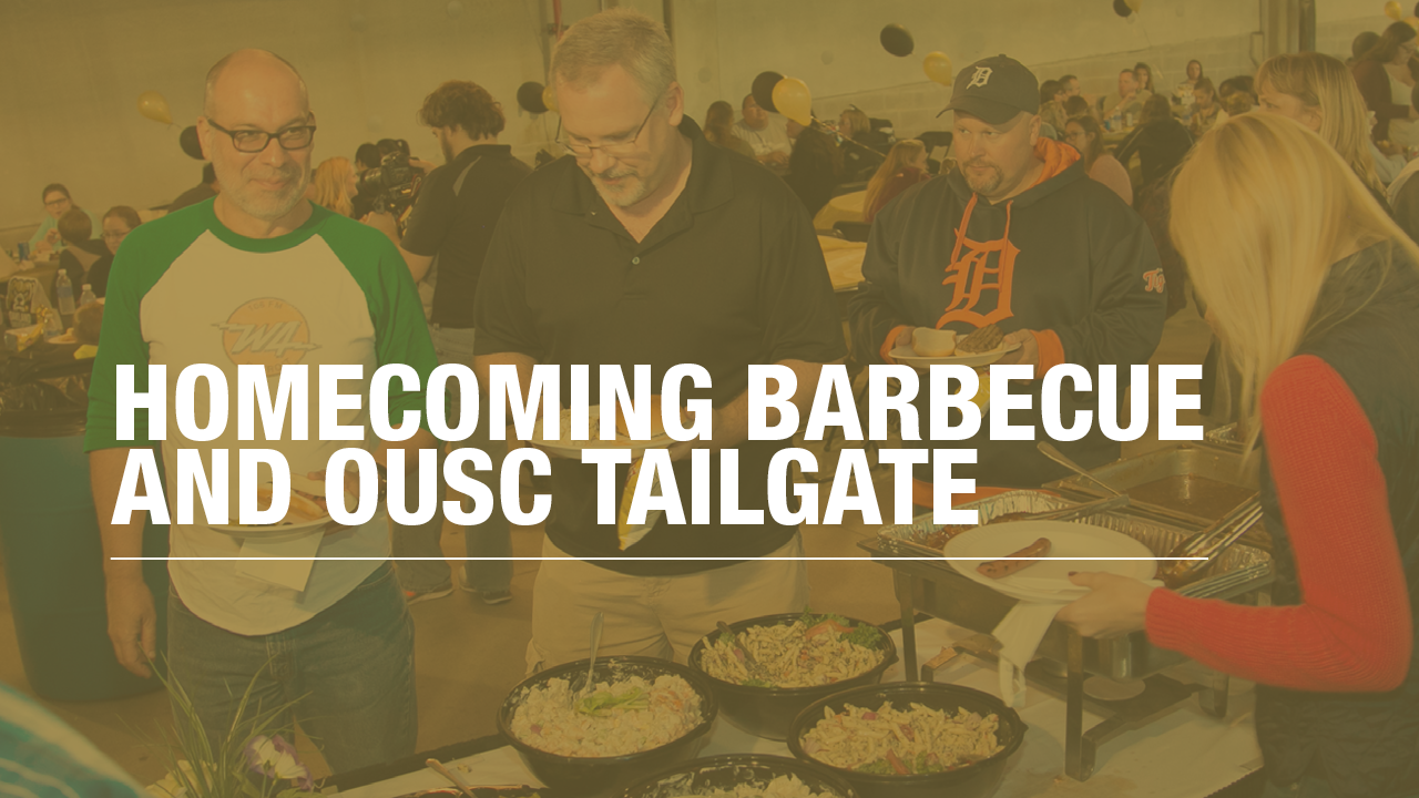 2016 Homecoming Barbecue and OUSC Tailgate