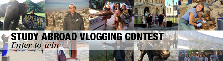 Study Abroad Vlogging Contest