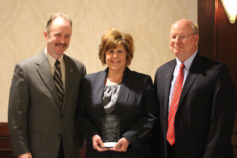 OU leader's service to Macomb County recognized with Leadership Macomb award
