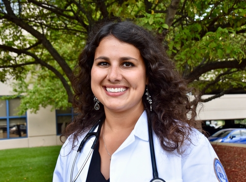 An image of OUWB medical student Meghan Brown