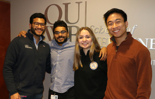 An image of OUWB's MSG Executive Board 2020-21