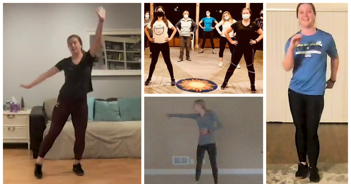 A collage of images from OUWB's Dance Medicine MD