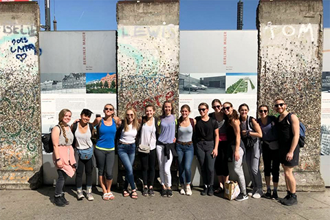 OU dancers/Take Root in Berlin