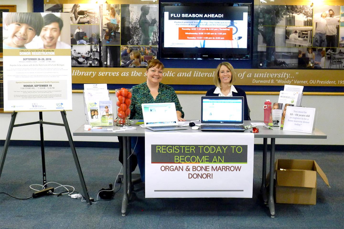 Organ & Bone Marrow Donor Registration Drive