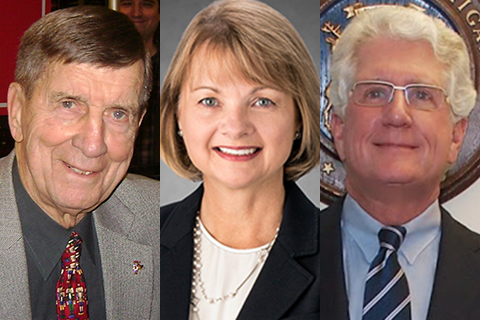 OU to recognize three with honorary degrees