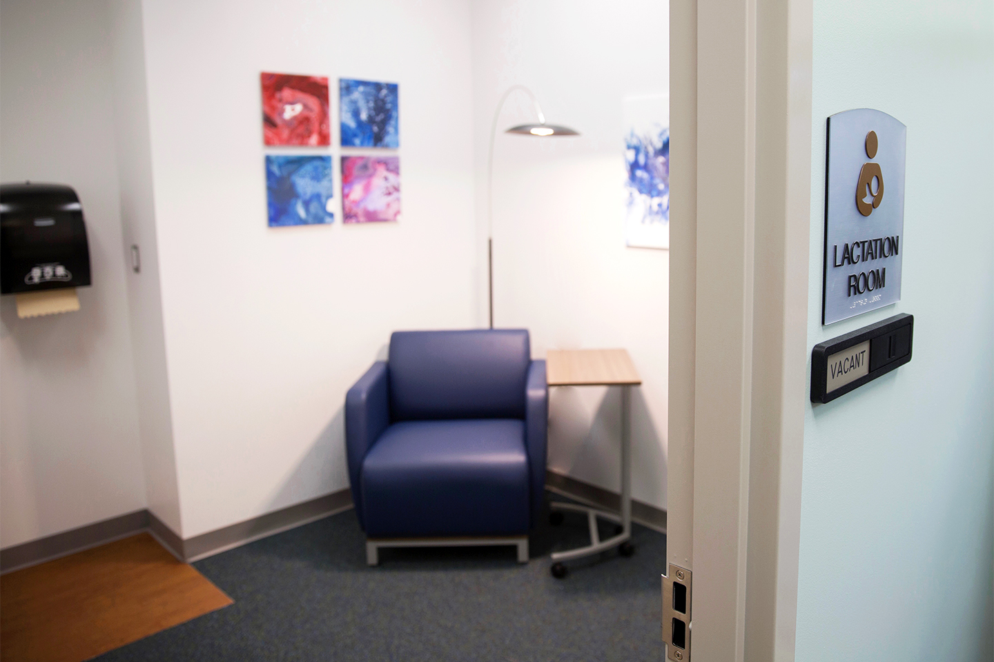 Lactation rooms available for parents in need at Oakland University