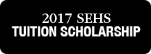2017 SEHS Tuition Scholarship Web Button