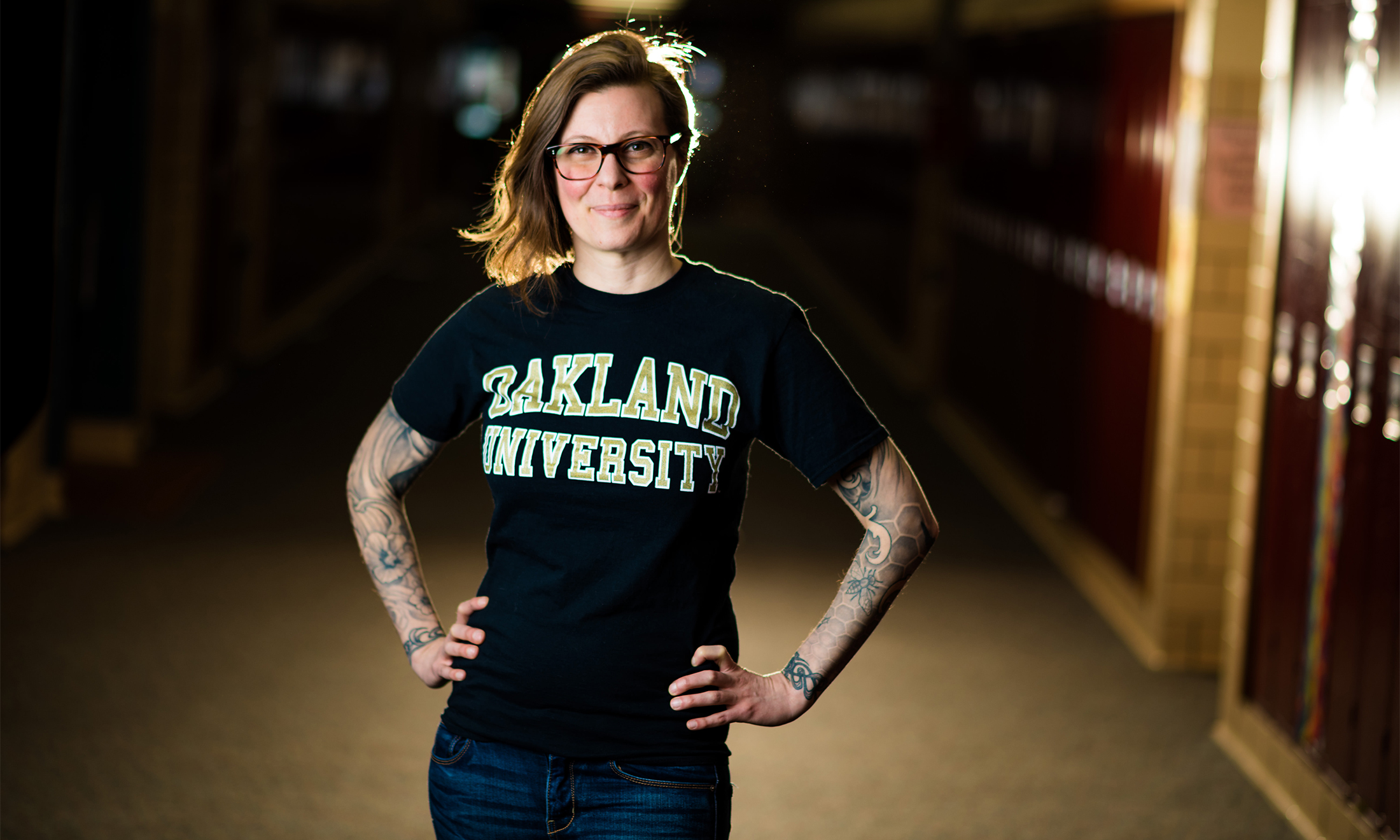 Oakland University alumna and elementary teacher, Julia Music