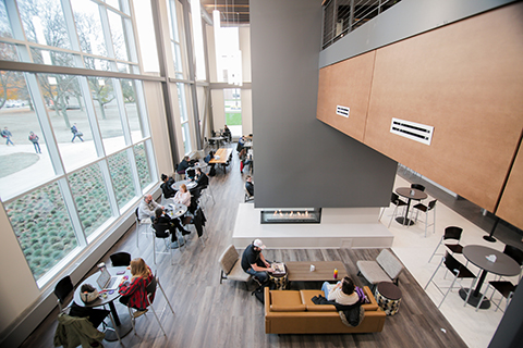 OU celebrates re-opening of expanded, renovated Oakland Center