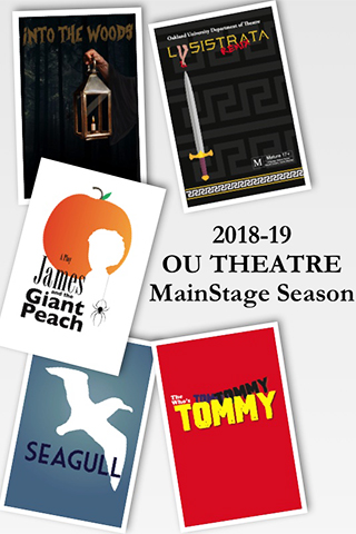 From fairy tales to a rock opera, OU's 2018-19 theatre season offers 'something for everyone'