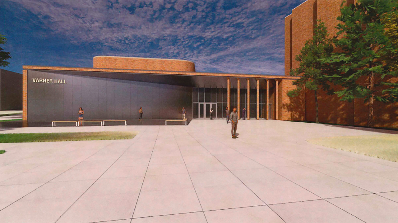 OU's Varner Hall to undergo 'much-needed' renovations as part of $45 million project