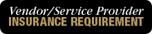 "button with the text ""Vendor/Service Provider Insurance Requirement"""