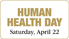 Human Health Day event Saturday, April 22