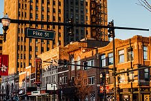 Pike St. in downtown Pontiac.