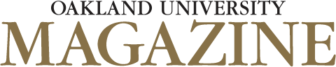 Oakland University Magazine logo