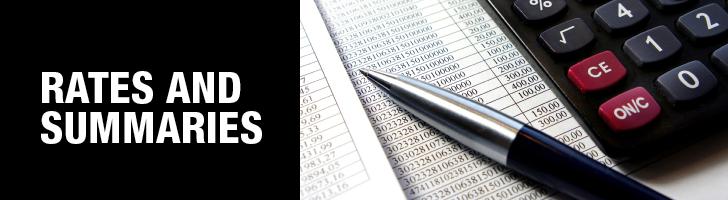 Rates and Summaries - Benefits - University Human Resources