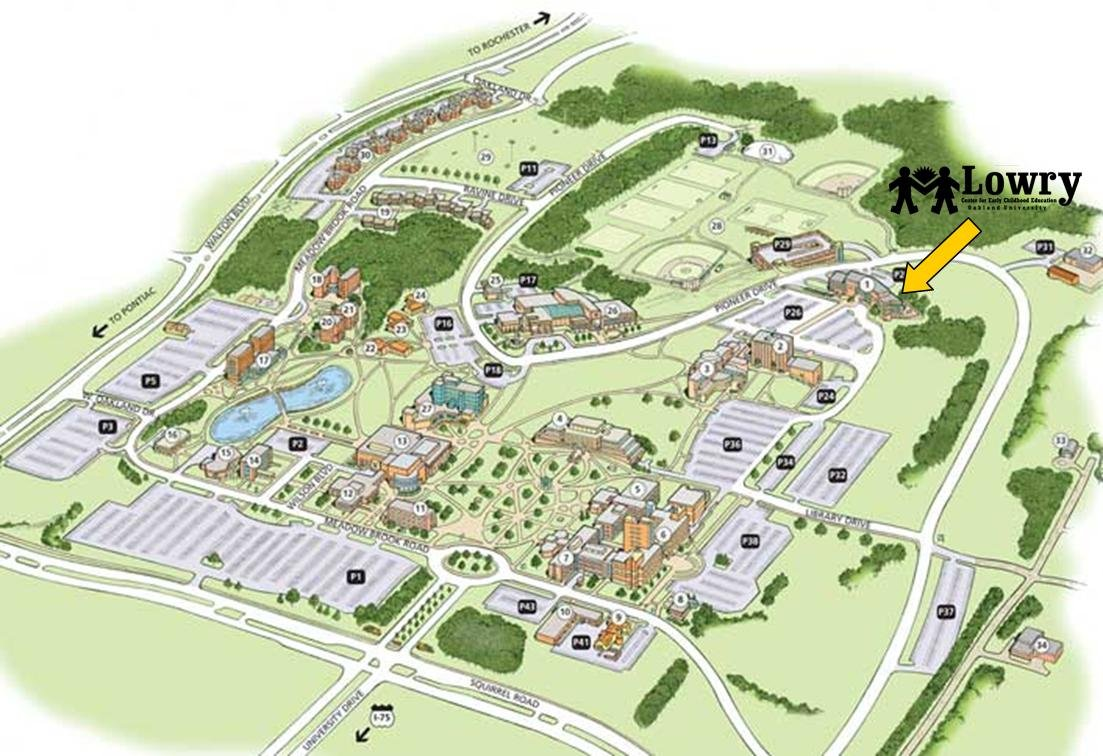 List of Synonyms and Antonyms of the Word ou campus map